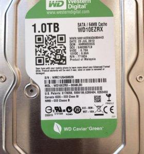 Жесткий диск для ПК 1000Gb
