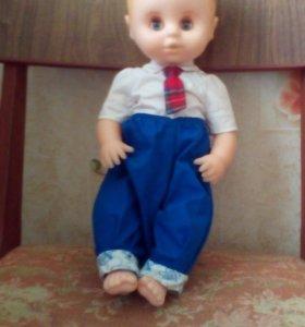 куклу зовут Андрейка