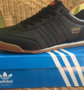 Кожаные мужские кроссовки Adidas Dragon