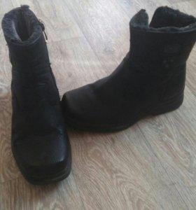 Зимние ботинки муж.