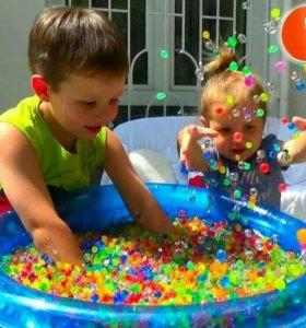 Шарики Орбиз для бассейна развивашка для детей