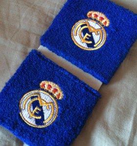 Напульсники «Real Madrid» (2 шт.)