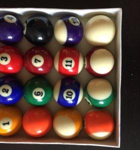 Новые бильярдные шары (Пул, 57,2мм)