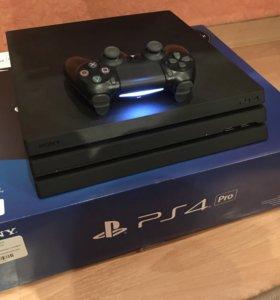 🔵Sony PlayStation 4 pro 1000gb+более 20 игр