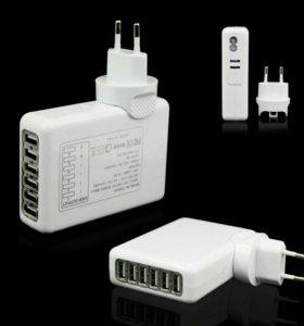Зарядное устройство на 6 USB