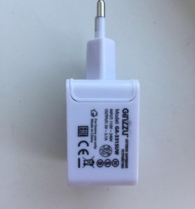 Зарядное на 3 USB выхода 3.1А