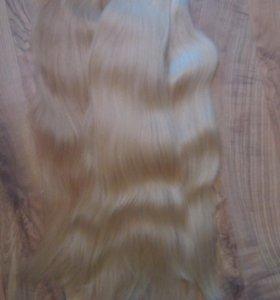 Волосы в хвостах