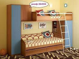 Кровать двухъярусная бу