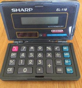 Калькулятор Sharp