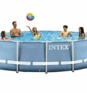 Каркасный бассейн INTEX 3.66x0.99