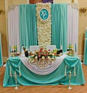 💍Оформление свадебного зала💑