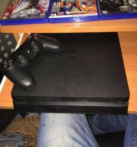 PS4 slim 1 tb памяти