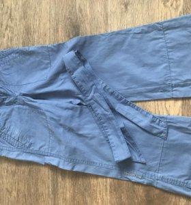 Продам летние брюки на девочку. Размер 104.