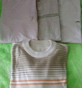 3 футболки+ свитер