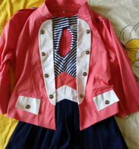 Платье + пиджак