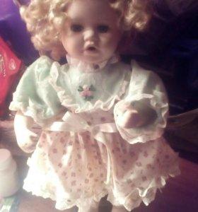 Старинная кукла на подставке(как живая!)😍📞📞