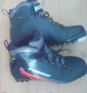 ботинки лыжные р.39
