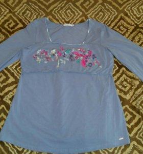Блузка для будущих и кормящих мам