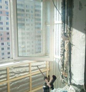 болконы окна