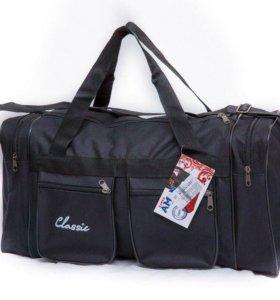 Чёрная спортивная сумка
