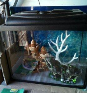 Новый 50 литровый аквариум и другие в наличии.