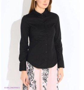 Рубашка женская черная из оджи