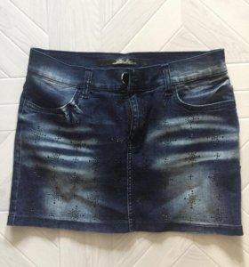 Юбка джинсовая 42-44