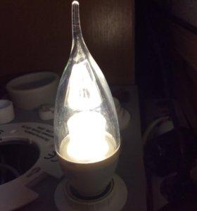 Лампа светодиодная с линзой