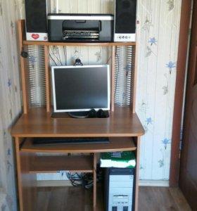 Компьютерный стол, принтер 3в1