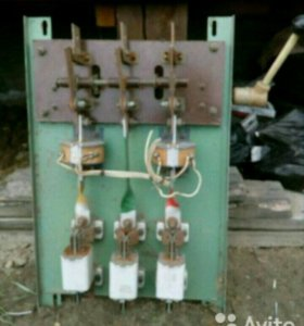 Рубильник со вставками и трансформаторами тока