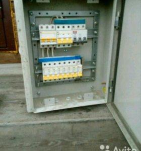 Металлический бокс IP с автоматоми