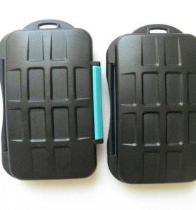 Кейс для карт памяти ударо-водо-защитный