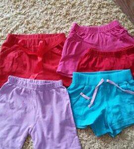 шорты для девочек в садик