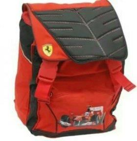 Ранец рюкзак сумка детский для школы ferrari
