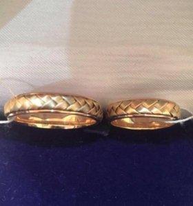 Кольца обручальные золотые