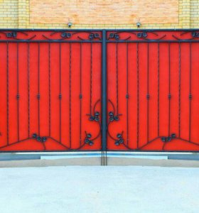 Кованые ворота артикул 72