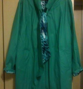 Укороченное пальто\Удлиненная куртка