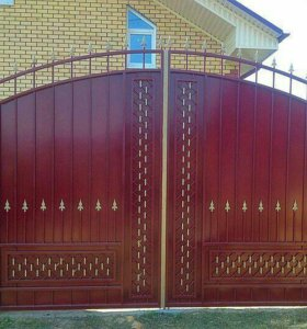 Кованые ворота артикул 69