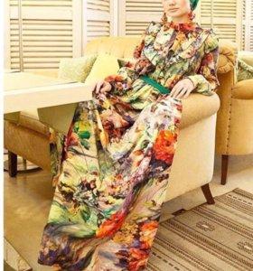 Платья итальянский штапель
