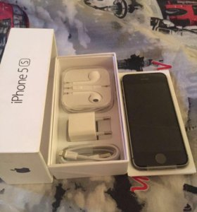 iPhone 5/s чёрный