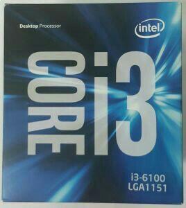 Новый процессор INTEL i3-6100