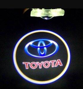 Подсветка дверная С логотипом