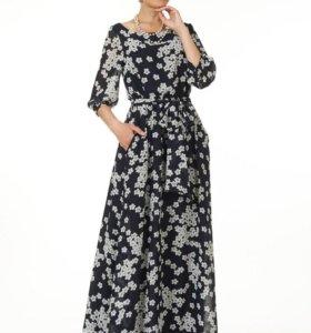 Шифоновое платье в пол Argent