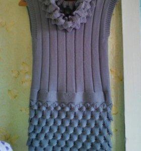 Теплая Туника- платье