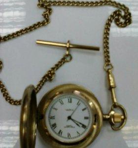 Часы карманные чайка