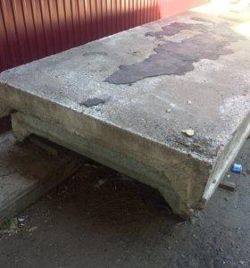 Плиты бетонные П-образные , 6м , кол-во2 шт