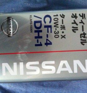 Nissan фирм масло дизельных двигателей CF-4/DH-1