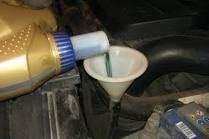 Замена масло