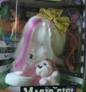 Кукла - манекен детская для создания причёсок