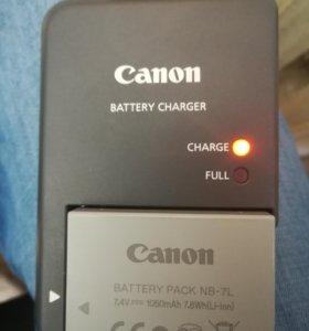 Аккумулятор NB-7L и зарядка Canon CB-2LZE